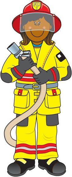 Figuras de los oficios y profesiones - Sonia.3 U. - Álbumes web de Picasa Community Jobs, Community Workers, School Community, Community Helpers Worksheets, Community Helpers Preschool, People Who Help Us, Female Firefighter, Fire Safety, Kindergarten