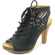Adam Tucker Gemma 8 Women US 65 Black Platform Heel <3 Click the image to visit the website