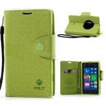 Capa Lumia 1020 - Tipo Carteira Bolso Verde
