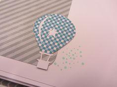 Livre de naissance ours et montgolfière