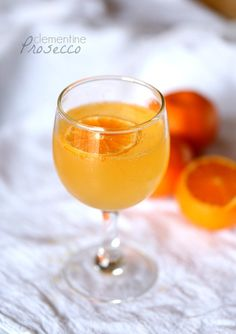 Clementine Prosecco Cocktail!!