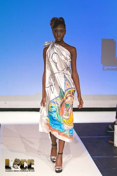 LACE 2013 Designer: Erwin Michalec Hairstylist: You, Naturally /Make up Artist Marva Williams/ Model: Catherine Achleng / Are You A#Designer, Who Wishes To #Exhibit Or #Showcase Your Brand For 2014?  @ designer@londonafricaculturalevent.com
