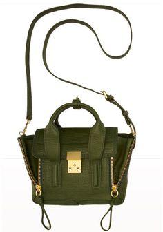 3.1 Phillip Lim Mini Pashli satchel. $650, barneys.com.