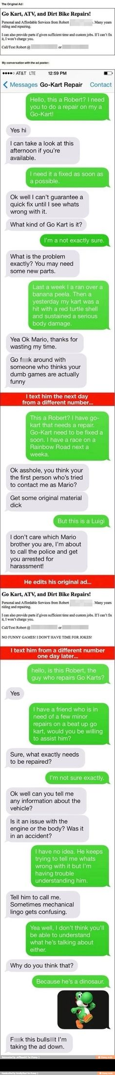 It's a me a Mario!