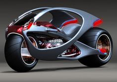 Future Motorcycle Hyundai by Min Seong Kim