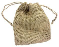 Burlap Drawstring Bag 5x6 Inch Natural Drawstring ^^ Check this awesome image  : Wrapping Ideas