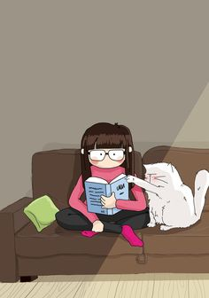 Pattes de Velours & Co, le blog de chat !: Séance lecture - reading time