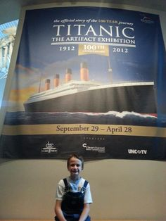 Nick's voracious appetite for learning all he can about the Titanic has lead us to read many great books, watch one documentary on dvd, and take one field trip to the Titanic exhibit at the North Carolina Museum of Science. … Continue reading →