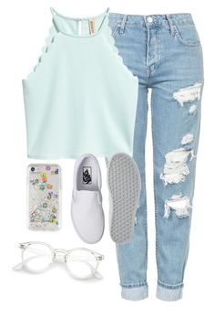 """Very cute, yet simple 38"" by lollypopz951 ❤ liked on Polyvore featuring Topshop, Vans and Rebecca Minkoff"