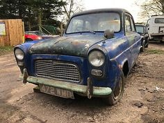 Ford Anglia, Classic Cars British, Barn Finds, Sierra Leone, Fun Projects, Antique Cars, Restoration, Car Sales, The Unit