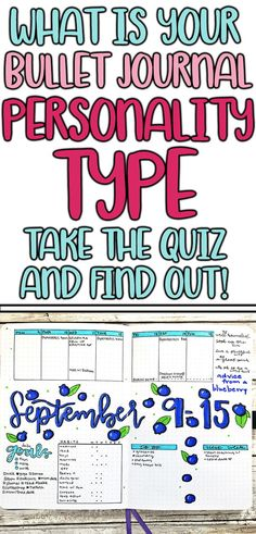 What is your bullet journal style? Try this personal quiz to find out which type of bujo you should create. #bulletjournal #bujo #quiz #personalityquiz