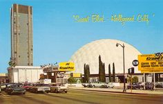 Pacific's Cinerama Theatre, LA CA, 1966 by Roloff, via Flickr