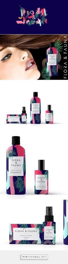 Flora & Fauna Cosmetics Company Packaging by Alison Congdon | Fivestar Branding Agency – Design and Branding Agency & Curated Inspiration Gallery  #cosmeticpackaging #packaging #packagingdesign #design #designinspiration