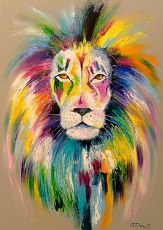 What is Your Painting Style? How do you find your own painting style? What is your painting style? Lion Painting, Oil Painting On Canvas, Painting & Drawing, Unicorn Painting, Oil Pastel Art, Pastel Drawing, Drawing Lips, Bright Paintings, Animal Paintings