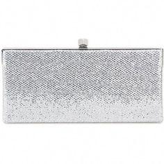 6e68752cda0 Jimmy Choo Celeste Glitter Clutch ($755) ❤ liked on Polyvore featuring bags,  handbags