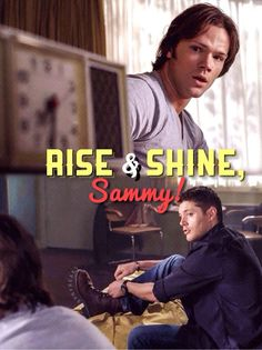 rise and shine Sammy!!! ♪ Heat of the Moment ♪ #mysteryspot #supernatural pic.twitter.com/4UphyVKaxe