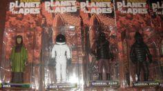 Medicom Mego Planet Of The Apes Action Figures Complete Set(19) MOC