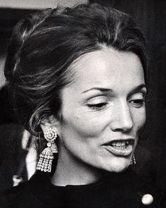 lee radziwill + earrings