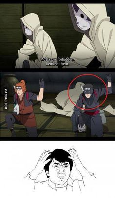 9GAG anime logic haha