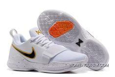 7397082fe1f5 Nike PG 1  Home  PE Whtie Black New Release
