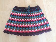 Crochet skirt for your favourite girl / gehaakt rokje by byPea