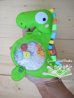 I Spy Bag Dinosaur Klidné Toy Sensory Toy I Spy podle GanniQuietBooks