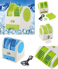 [Visit to Buy] Portable USB Ultra-quiet No Leaves Mini Air Conditioning Fan Aromatherapy Fan ventilador ar condicionado air conditioner fan #Advertisement