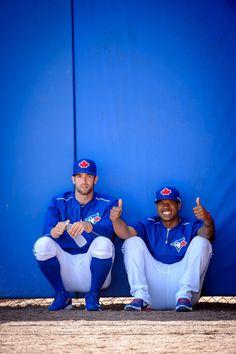 Marcus Stroman and Daniel Norris, Toronto Blue Jays 2015 Spring Training #BlueJays