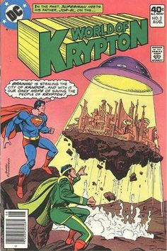 Cover for World of Krypton #2 (1979)