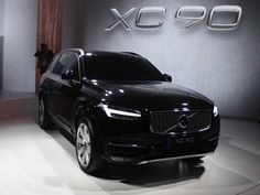 2017 Volvo Xc90 black color, front