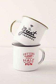 Printed Enamel Mug- from Urban Outfitters