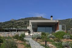 Residence at Keratea, PALY architects Lykoudis Papaspiliopoulou
