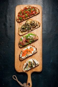 Eat Stop Eat - This Tartine Bar has Party written all over it. It comes together in about 40 minutes. Fresh and vibrant flavors for dinner. - In Just One Day This Simple Strategy Frees You From Complicated Diet Rules - And Eliminates Rebound Weight Gain Think Food, Love Food, Plats Healthy, Cooking Recipes, Healthy Recipes, Healthy Food, Avocado Recipes, Stop Eating, Food Presentation