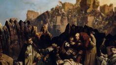Os cristãos feridos na Batalha de Montgisard foram recolhidos ao Hospital em Jerusalém.