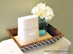Getting Crafty: Decorating a Cottonelle Care Routine Caddy