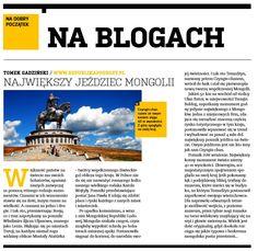 Największy jeździec Mongolii.  http://republikapodrozy.pl/najwiekszy-jezdziec-mongolii/