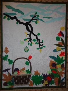 Homemade wall Quilt
