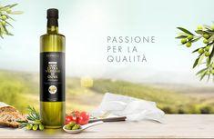 Costanza Oil Range on Packaging of the World - Creative Package Design Gallery Packaging Dielines, Food Packaging Design, Packaging Design Inspiration, Branding Design, Identity Branding, Brochure Design, Visual Identity, Olives, Olive Oil Brands