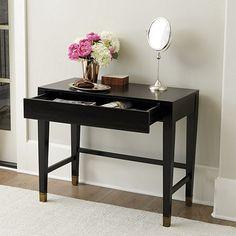 "Drake Petite Desk, $499, Overall: 30""H X 36""W X 18 1/2""D"