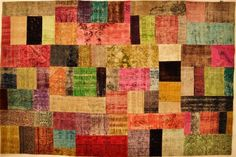 my living room is in desperate need of an overdyed patchwork rug.