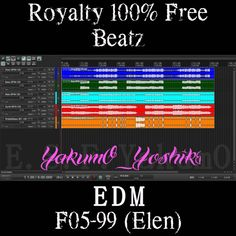 F05-99 (Elen) [Tags Removed] 【Royalty Free】   YakumO_YoshikI EDM