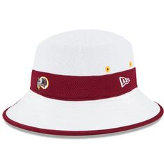 8cea7cb2941482 <UL> <li>This NFL 2015 Training Bucket Hat features an embroidered team  logo at front and stitched New Era flag at the wearer's left side.