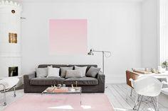 Skandinavische Wohnideen: im Wohnzimmer