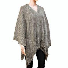 Women's Sequin Accented V-Neck Fringe Knit Poncho Endless Envy http://www.amazon.com/dp/B0155PD9UW/ref=cm_sw_r_pi_dp_rAm8vb1N2D3TR