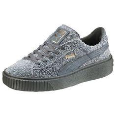PUMA SUEDE CREEPER ELEMENTAL WOMENS SNEAKERS - #zapatosdemujer  #zapatosmujer #zapatos #de #