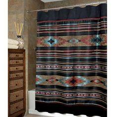 Santa Fe Southwestern Shower Curtain Carson S Room