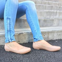 Beautiful, handcrafted leather flats. Super comfortable and made to last.