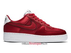 detailed look 74736 d4ad9 Nike Wmns Air Force 1 Low Red Velvet AA0287-602 Chaussure Nike Sneaker Pas  Cher Pour HommeFemme - AA0287-602