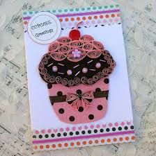 Image result for quilling cup cake
