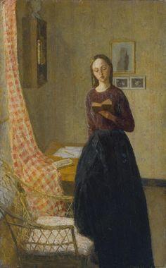 'A Lady Reading', Gwen John, 1909-11   Tate